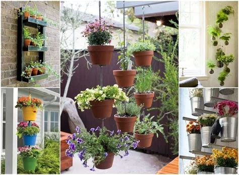 beautiful hanging vertical garden ideas