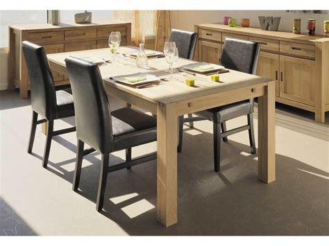 table a manger cuisine table à manger rectangulaire en chêne finition huilée