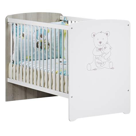 chambre bébé baby chambre bébé duo teddy lit 60x120cm commode de baby