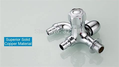 luxury bathroom dual function washing machine water tap