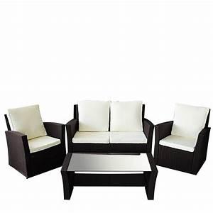 Garten Lounge Möbel Metall : gartenmoebel le havre in braun garten lounge sitzgruppe moebel rattan polyrattan ~ Markanthonyermac.com Haus und Dekorationen
