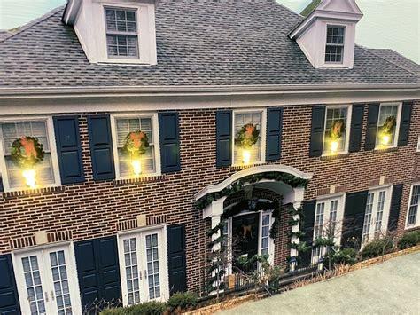 HO Scale Home Alone House