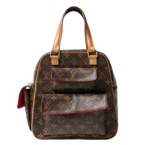 louis vuitton monogram canvas excentri cite handbag  stdibs