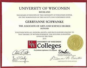 Associate of Arts and Science Degree | gerryanne
