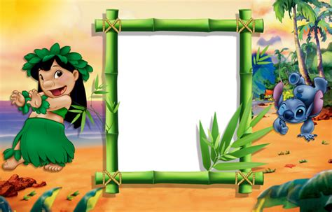 Lilo And Stitch Png Kids Frame
