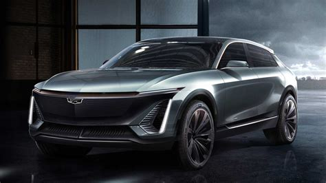 cadillac shows off first fully electric crossover on new