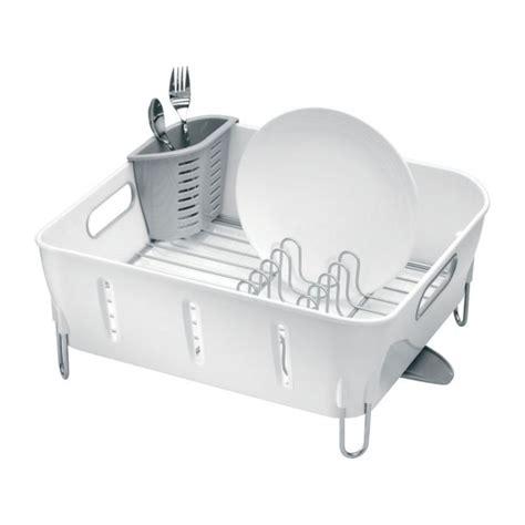 table cuisine habitat simplehuman rangements pour la cuisine blanc plastique