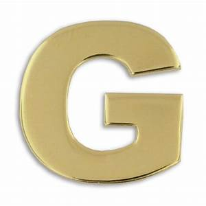 gold quotgquot pin letter pins alphabet pins stock pins With gold letter g