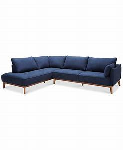 Jollene 113quot 2 pc sectional created for macy39s for Two piece sectional sofa sale