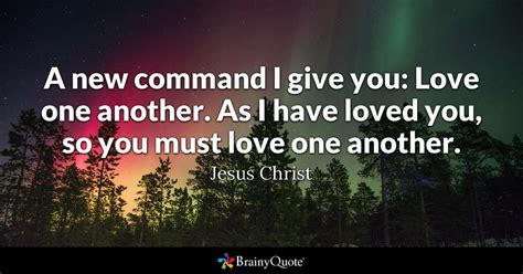command  give  love