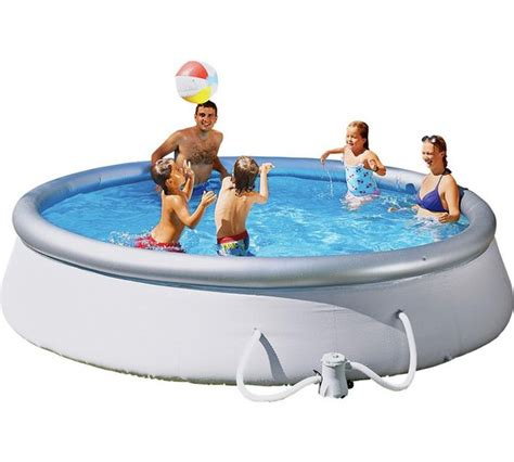 Pool Set by Buy Up Pool Set 12ft White At Argos Co Uk Your