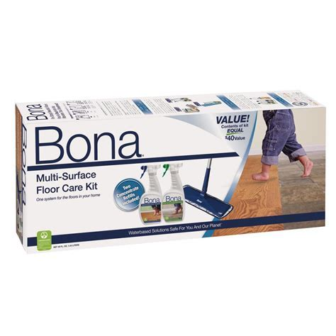 Bona Multi Surface Floor Care Kit WM710013501   The Home Depot