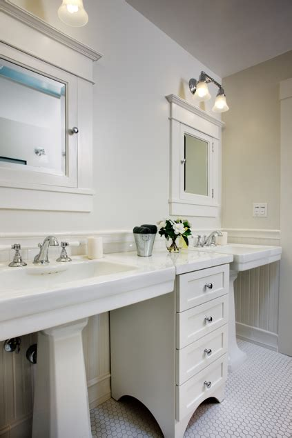 historic prairie bathroom remodel  architecture