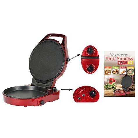 appareil multifonction cuisine tarte express 4 en 1 pro appareil à tartes