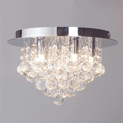 ceiling lights for low ceilings flush ceiling light g9 galaxy chrome from litecraft