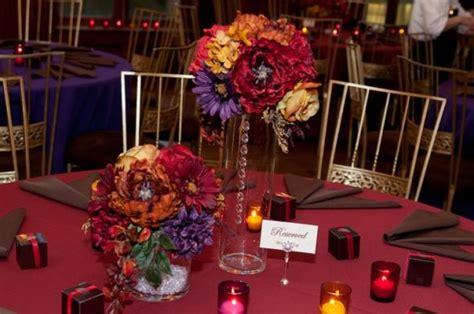 jewel tone centerpieces for sale diy weddingbee photo