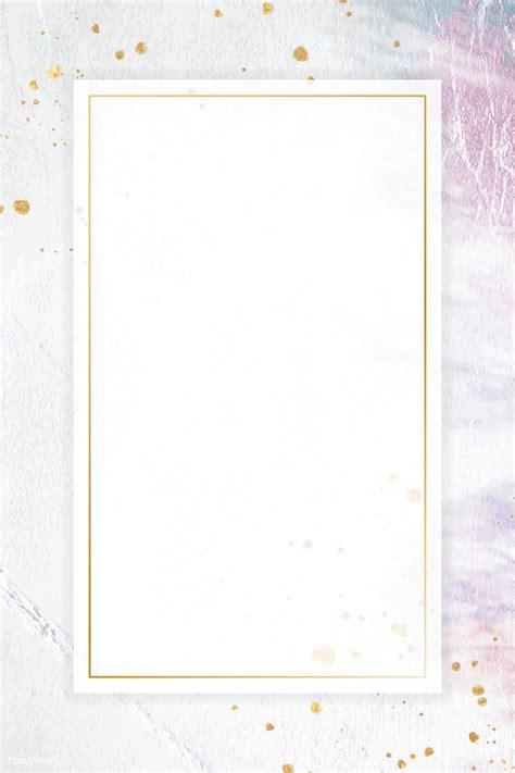premium vector  blank rectangle frame template