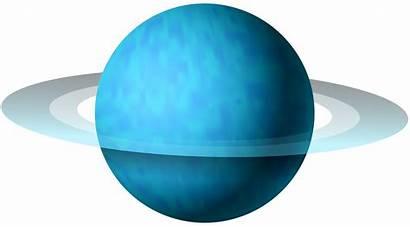 Uranus Clipart Clip Planet Saturn Cartoon Atmosphere