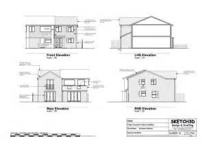 builder home plans exle house plans 3 bedroom end of terrace built to let development