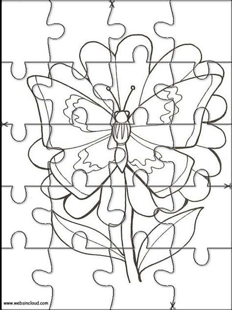 printable pangea puzzle worksheet cut  sketch coloring page