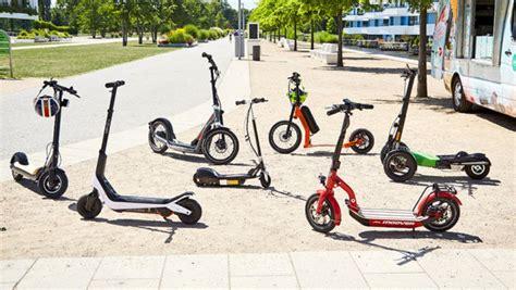 e scooter zulassung 2018 e scooter test 2018 autobild de