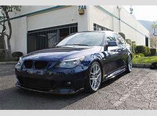 Deep Sea Blue 2008 BMW E60 550i Sport w Cream Interior
