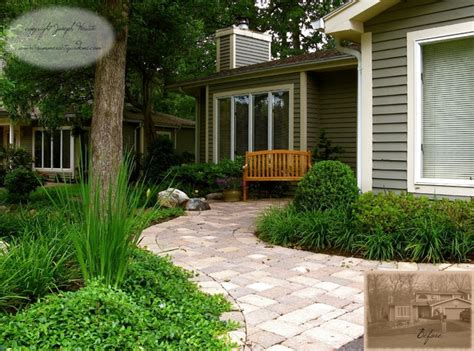 Front Yard Walkway & Landscaping  Traditional Landscape