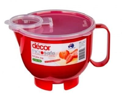 decor microsafe jug    ml plastic
