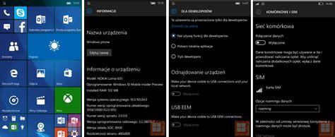 Leak Screenshots Zu Windows 10 Mobile Build 10534 Im Netz