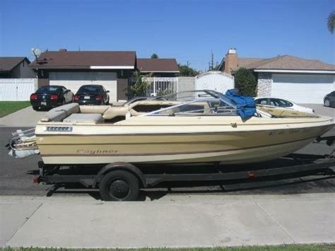19 Ft Boat Trailer by 19 Ft Boat Trailer With A 1984 Bayliner For Sale