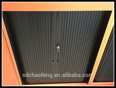 Horizontal Slatted Doors,Cabinet Rolling Door,Roll Down