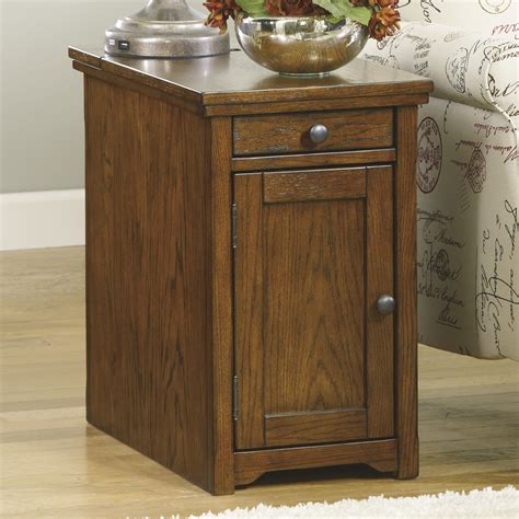 ashley furniture end table with power ashley signature design laflorn t127 699 chairside end