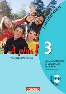 Französisch Buch A Plus : plus ausgabe 2004 band 3 klassenarbeitstrainer mit cd ~ Jslefanu.com Haus und Dekorationen