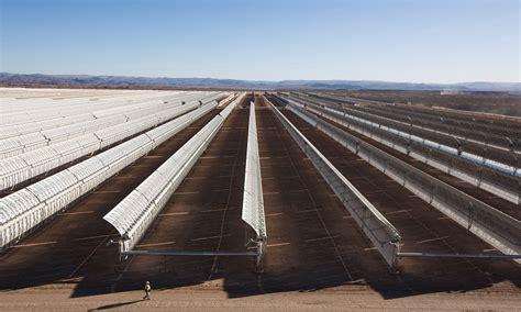 Концентрированная солнечная энергия concentrated solar power