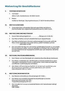 Mietvertrag Für Wohnungen : gesch ftsraummietvertrag muster nach schweizer recht zum ~ A.2002-acura-tl-radio.info Haus und Dekorationen