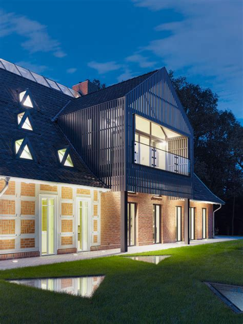 modern  classic meet renovated german country house