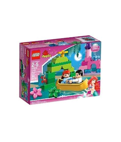 Lego Ariel Boat by Lego Ariels Magical Boat Ride Construction Sets Buy Lego