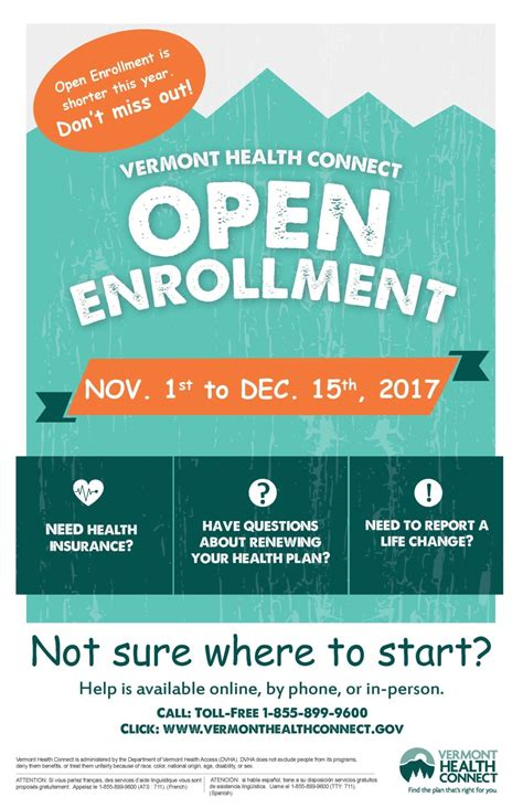 First quote health has put together a list of cheap health insurance options that can help you save money in 2020. Vermont Health Connect: Open Enrollment is Shorter This Year