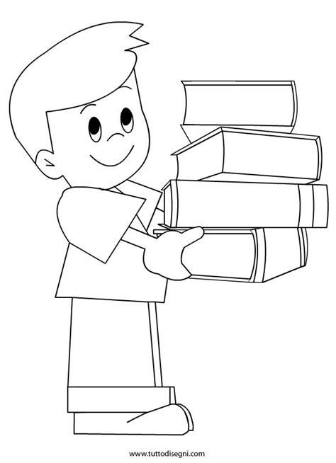 immagini di libri da colorare per bambini bambino con i libri da colorare tuttodisegni