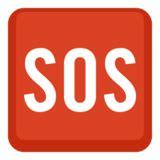 SOS Button Emoji on Facebook 2.2.1