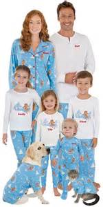 a must striped pajama clad family 39 s singing card