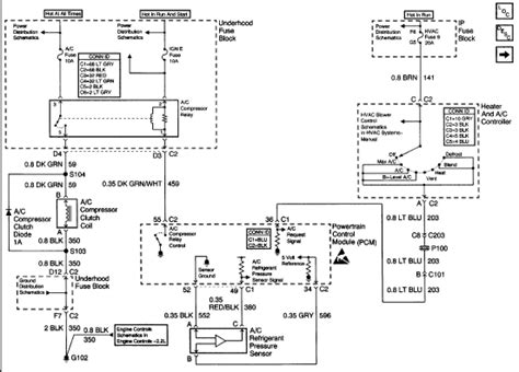 99 Gmc Sonoma Wiring Diagram by I Need A Schematic Of The A C Electrical Circuit For A