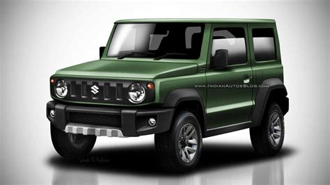 suzuki jimny 2018 suzuki jimny leaked images go high res in colorful