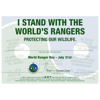 World Ranger Day – Muddy Faces