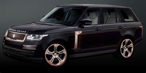 black and gold range rover strut handcrafted custom grille wheel and accessory for
