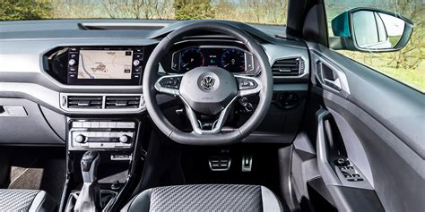 volkswagen  cross interior infotainment carwow