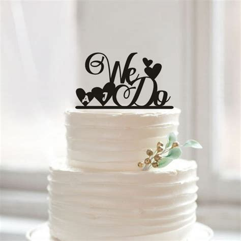 we do wedding cake topper personalized initial cake