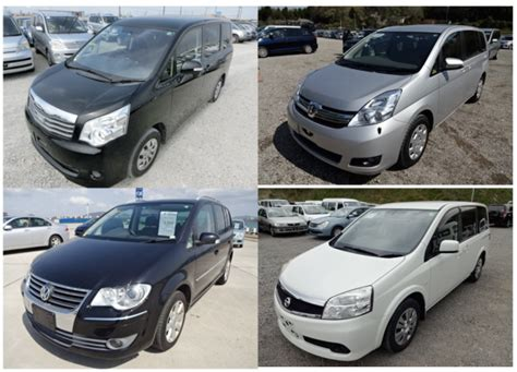 mpv car the 4 best selling mpvs offered by be forward