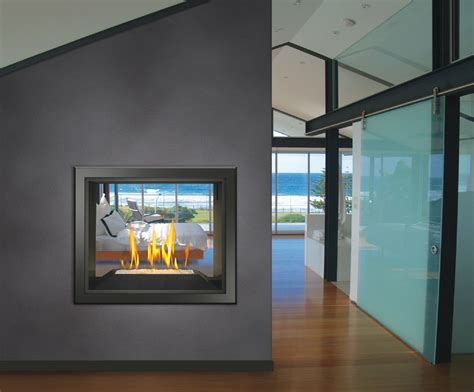 2 Sided Gas Fireplace Insert Fireplace Design Ideas