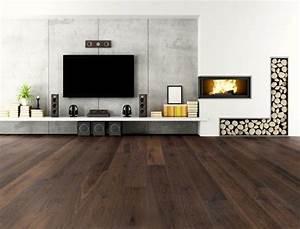 Wohnzimmer Mit Brauner Couch : die besten 25 dunkler holzboden ideen auf pinterest schlafzimmer holzboden dunkle holzb den ~ Markanthonyermac.com Haus und Dekorationen